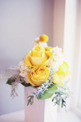 Flowers & Decor, Real Weddings, Wedding Style, yellow, Centerpieces, Summer Weddings, Midwest Real Weddings, Summer Real Weddings, Summer Wedding Flowers & Decor