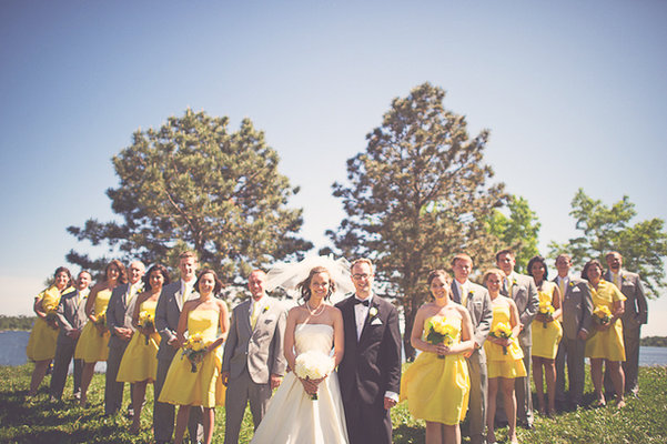 Real Weddings, yellow, Summer Weddings, Midwest Real Weddings, Summer Real Weddings