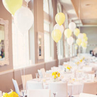 Real Weddings, white, yellow, Tables & Seating, Summer Weddings, Midwest Real Weddings, Summer Real Weddings, Summer Wedding Flowers & Decor