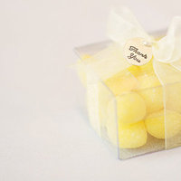 Favors & Gifts, Real Weddings, Wedding Style, yellow, Edible Wedding Favors, Summer Weddings, Midwest Real Weddings, Summer Real Weddings