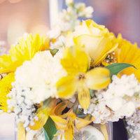 Real Weddings, yellow, Centerpieces, Summer Weddings, Midwest Real Weddings, Summer Real Weddings, Summer Wedding Flowers & Decor, minnesota weddings, minnesota real weddings
