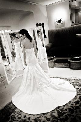 Lace Wedding Dresses, Fashion, Real Weddings, Wedding Style, West Coast Real Weddings, Glam Real Weddings, Glam Weddings