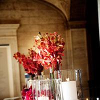 Flowers & Decor, Real Weddings, Wedding Style, Candles, Fall Weddings, Modern Real Weddings, City Real Weddings, Fall Real Weddings, City Weddings, Modern Weddings, Modern Wedding Flowers & Decor