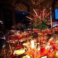 Flowers & Decor, Real Weddings, Wedding Style, Tables & Seating, Fall Weddings, Modern Real Weddings, City Real Weddings, Fall Real Weddings, City Weddings, Modern Weddings, Modern Wedding Flowers & Decor