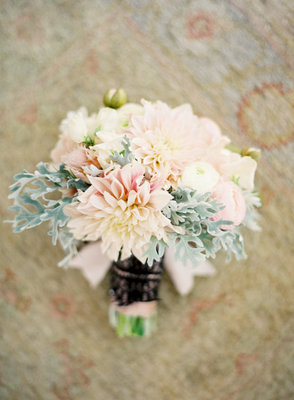 Bridesmaid Bouquets, West Coast Real Weddings, Pastel