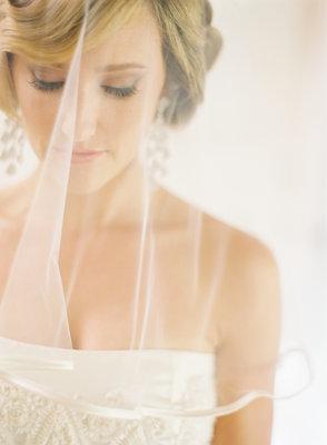 Veils, Makeup, Fair Complexion, West Coast Real Weddings, Classic Weddings