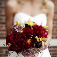 Flowers & Decor, Real Weddings, Wedding Style, red, Bride Bouquets, Fall Weddings, Fall Real Weddings, Midwest Real Weddings, Fall Wedding Flowers & Decor, Rustic Wedding Flowers & Decor, Vineyard Wedding Flowers & Decor, minnesota weddings, minnesota real weddings