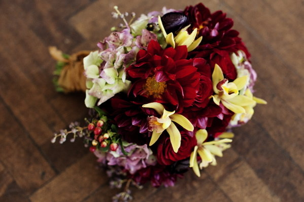 Flowers & Decor, Real Weddings, Bride Bouquets, Fall Real Weddings, Midwest Real Weddings, Fall Wedding Flowers & Decor, Rustic Wedding Flowers & Decor, Vineyard Wedding Flowers & Decor