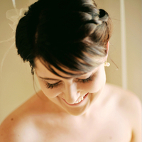 Beauty, Real Weddings, Makeup, Eco-Friendly, Bride, Romantic, Hair, Simple, Natural, Fresh, Light, Airy