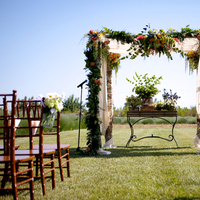 Ceremony, Flowers & Decor, Real Weddings, Wedding Style, Ceremony Flowers, Outdoor, Spring Weddings, Summer Weddings, West Coast Real Weddings, Spring Real Weddings, Summer Real Weddings, Arch, Farm wedding, West Coast Weddings, Organic Real Weddings, Organic weddings, Farm Real Weddings
