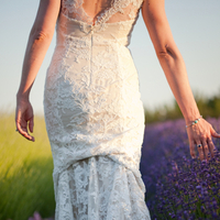 Real Weddings, Outdoor, Spring Weddings, Summer Weddings, West Coast Real Weddings, Spring Real Weddings, Summer Real Weddings, Casual, Farm wedding, West Coast Weddings, Organic Real Weddings, Organic weddings, Farm Real Weddings, lace wedding dress, lavender field