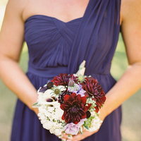Flowers & Decor, Real Weddings, Wedding Style, purple, Bridesmaid Bouquets, Fall Weddings, Rustic Real Weddings, West Coast Real Weddings, Fall Real Weddings, Vineyard Real Weddings, Rustic Weddings, Vineyard Weddings
