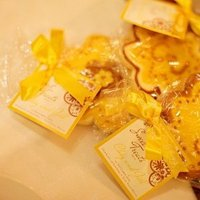 Favors & Gifts, Destinations, Real Weddings, Wedding Style, yellow, Asia, Cultural, Edible Wedding Favors, Cookies, cultural weddings, cultural real wedding