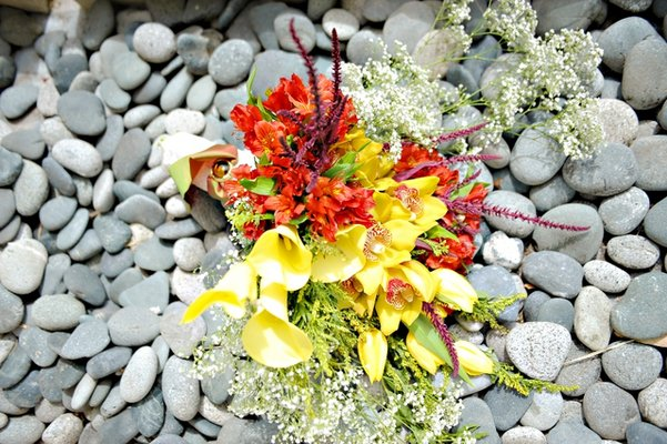 Flowers & Decor, Destinations, Real Weddings, Wedding Style, Asia, Cultural, Bride Bouquets, Summer Wedding Flowers & Decor, cultural weddings, cultural real wedding