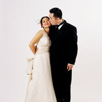 white, black, Fall Weddings, Fall Real Weddings