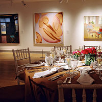 red, brown, Tables & Seating, Fall Real Weddings, City Weddings