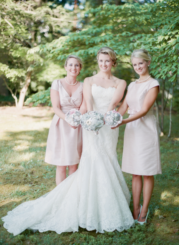 Bridesmaids Dresses, Fashion, Real Weddings, Wedding Style, pink, Southern Real Weddings, Summer Weddings, Classic Real Weddings, Summer Real Weddings, Vineyard Real Weddings, Classic Weddings, Vineyard Weddings