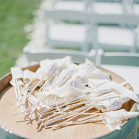 Favors & Gifts, Real Weddings, Wedding Style, Southern Real Weddings, Summer Weddings, Classic Real Weddings, Summer Real Weddings, Vineyard Real Weddings, Classic Weddings, Vineyard Weddings, Tan, Flags