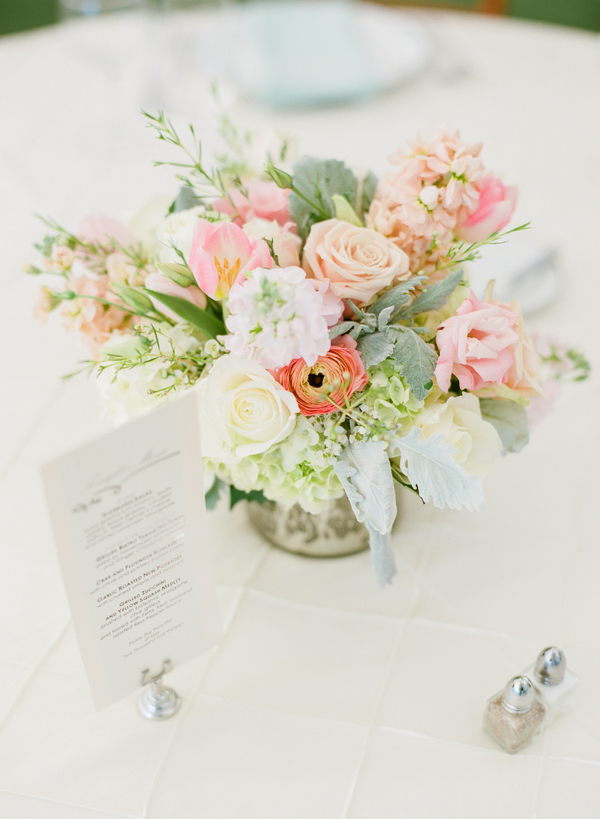 Flowers & Decor, Real Weddings, Wedding Style, Centerpieces, Southern Real Weddings, Summer Weddings, Classic Real Weddings, Summer Real Weddings, Vineyard Real Weddings, Classic Weddings, Vineyard Weddings, Summer Wedding Flowers & Decor, Pastel