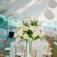 Flowers & Decor, Real Weddings, Wedding Style, Centerpieces, Southern Real Weddings, Summer Weddings, Classic Real Weddings, Summer Real Weddings, Vineyard Real Weddings, Classic Weddings, Vineyard Weddings, Spring Wedding Flowers & Decor, Pastel