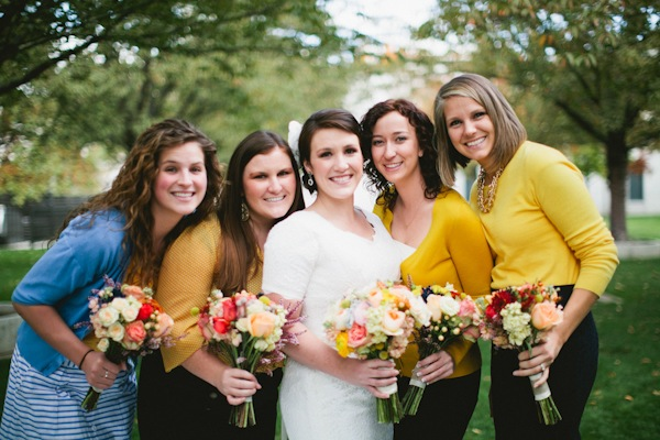Bridesmaids, Real Weddings, black, gold, Fall Weddings, Rustic Real Weddings, Fall Real Weddings, Rustic Weddings, Bridal party, Lds wedding, LDS Real WEdding, Autumn Real Wedding, Autumn Weddings, DIY Real Weddings, DIY Weddings