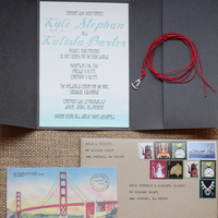 Stationery, Real Weddings, West Coast Real Weddings, Eco-Friendly Real Weddings, Vintage Real Weddings, Eco-Friendly Weddings, Vintage Weddings, West Coast Weddings, DIY Real Weddings, DIY Weddings, Artsy Real Weddings, Artsy Wedding