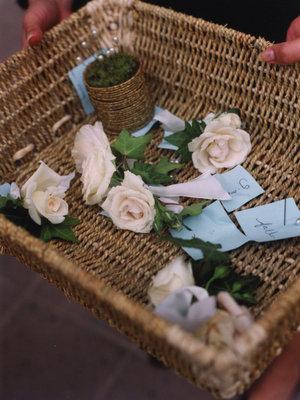 Real Weddings, white, Boutonnieres, Fall Weddings, West Coast Real Weddings, Fall Real Weddings, Fall Wedding Flowers & Decor