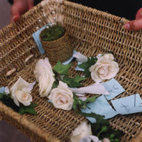 Real Weddings, white, Boutonnieres, Fall Weddings, West Coast Real Weddings, Fall Real Weddings, Fall Wedding Flowers & Decor