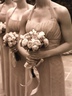 Real Weddings, Bridesmaid Bouquets, Fall Weddings, West Coast Real Weddings, Fall Real Weddings