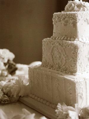 Real Weddings, white, Square Wedding Cakes, Wedding Cakes, Fall Weddings, West Coast Real Weddings, Fall Real Weddings