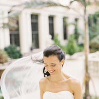 Real Weddings, Classic, Bride, Southern Real Weddings, Veil, Elegant, Florida, Wind, Southern weddings, florida real weddings, florida weddings