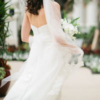Real Weddings, white, Classic, Bride, Veil, Elegant, Florida