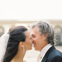 Real Weddings, Classic, Portrait, Kiss, Elegant, Florida