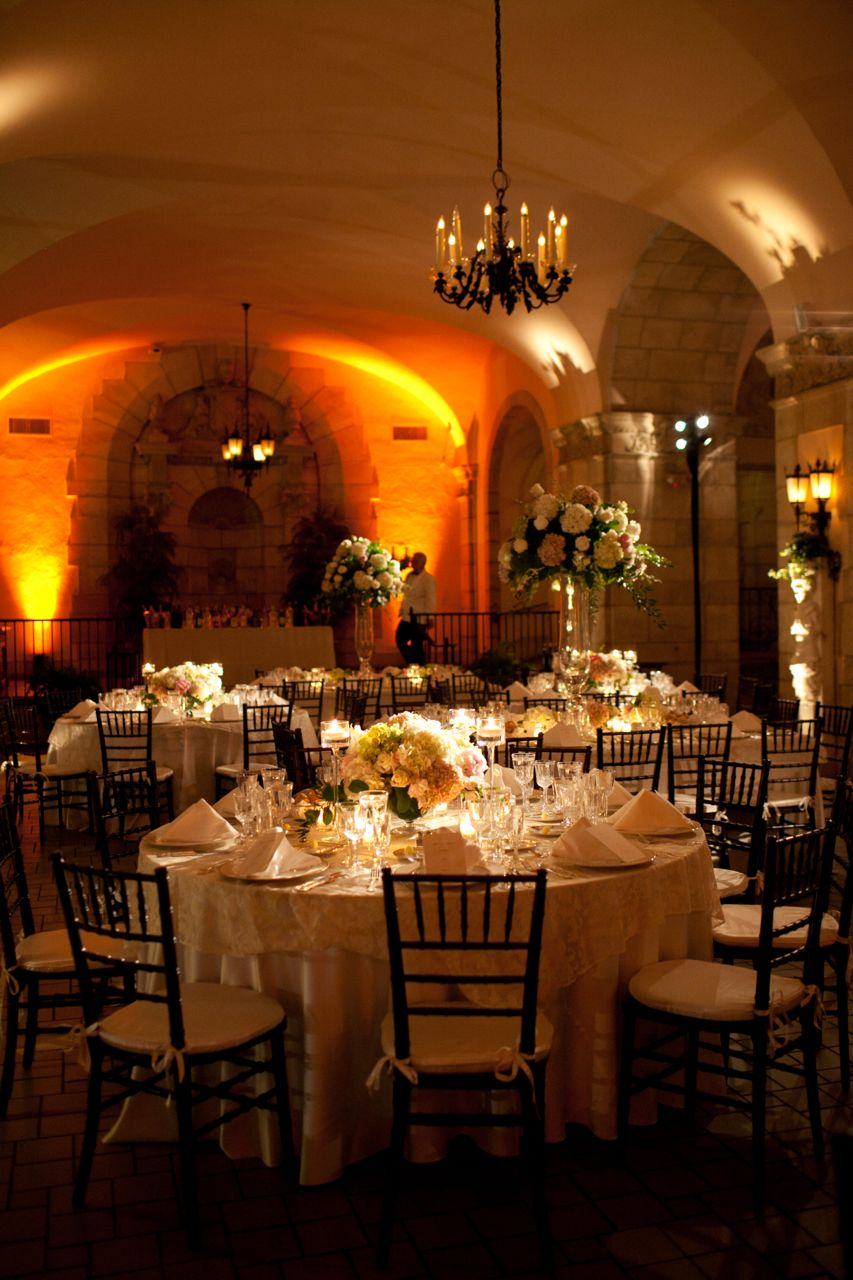 Reception, Flowers & Decor, Real Weddings, Classic, Elegant, Florida, Tables