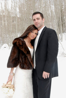 Fashion, Real Weddings, Wedding Style, Accessories, Winter Weddings, Midwest Real Weddings, Winter Real Weddings, Fur