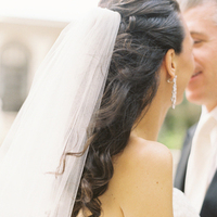 Jewelry, Veils, Fashion, Real Weddings, Earrings, Classic, Elegant, Florida, Classic Wedding Dresses