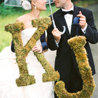 Real Weddings, Portrait, Monogram, Umbrella, Elegant, Moss, Sophisticated, Wisconsin Real Weddings, wisconsin weddings