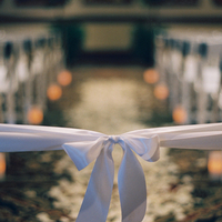 Ceremony, Real Weddings, Elegant, Ribbon, Aisle, Indoor, Rose petals, Sophisticated, Wisconsin Real Weddings, wisconsin weddings