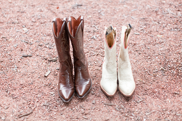 Real Weddings, Cowboy boots
