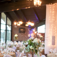 Reception, Flowers & Decor, Real Weddings, Rustic, Lighting, Centerpiece, Elegant, Sophisticated