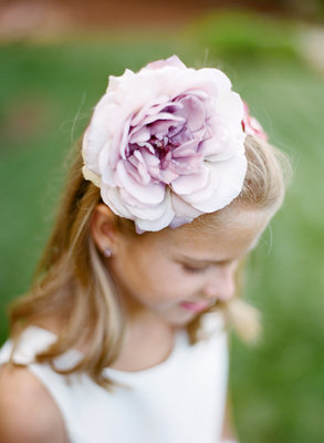 Beauty, Real Weddings, Wedding Style, purple, Spring Weddings, Midwest Real Weddings, Spring Real Weddings, Hair flower