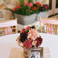Flowers & Decor, Real Weddings, Wedding Style, pink, Centerpieces, Spring Weddings, Midwest Real Weddings, Spring Real Weddings, Vintage Wedding Flowers & Decor