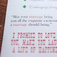 Stationery, Real Weddings, Wedding Style, Ceremony Programs, Rustic Real Weddings, Midwest Real Weddings, Rustic Weddings