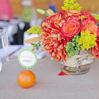 Flowers & Decor, Real Weddings, Wedding Style, orange, Centerpieces, Rustic Real Weddings, Midwest Real Weddings, Rustic Weddings, Rustic Wedding Flowers & Decor