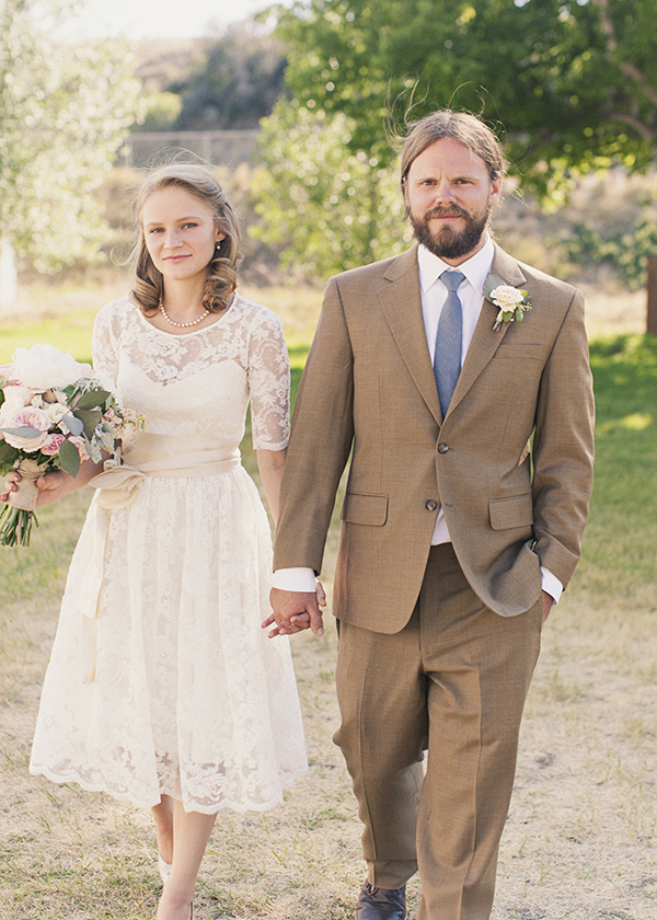 Lace Wedding Dresses, Vintage Wedding Dresses, Fashion, Real Weddings, Wedding Style, brown, Men's Formal Wear, Rustic Real Weddings, Spring Weddings, Midwest Real Weddings, Spring Real Weddings, Vintage Real Weddings, Rustic Weddings, Vintage Weddings, Tan