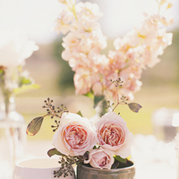 Flowers & Decor, Real Weddings, Wedding Style, pink, Centerpieces, Rustic Real Weddings, Spring Weddings, Midwest Real Weddings, Spring Real Weddings, Vintage Real Weddings, Rustic Weddings, Vintage Weddings, Rustic Wedding Flowers & Decor, Spring Wedding Flowers & Decor, Vintage Wedding Flowers & Decor, Pastel