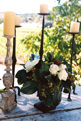Flowers & Decor, Real Weddings, Wedding Style, Aisle Decor, Candles, West Coast Real Weddings, Classic Real Weddings, Vineyard Real Weddings, Classic Weddings, Vineyard Weddings