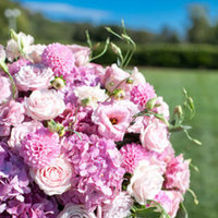 Flowers & Decor, Real Weddings, Wedding Style, pink, Ceremony Flowers, Spring Weddings, West Coast Real Weddings, Spring Real Weddings, Vineyard Real Weddings, Vineyard Weddings, Spring Wedding Flowers & Decor, Vineyard Wedding Flowers & Decor