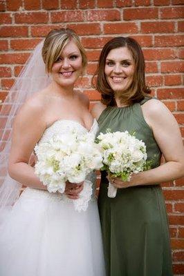 Bridesmaids Dresses, Fashion, Real Weddings, Wedding Style, green, West Coast Real Weddings, Classic Real Weddings, Classic Weddings