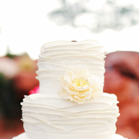 Cakes, Real Weddings, Wedding Style, white, ivory, Modern Wedding Cakes, Round Wedding Cakes, Wedding Cakes, Modern Real Weddings, Summer Weddings, West Coast Real Weddings, Summer Real Weddings, Modern Weddings